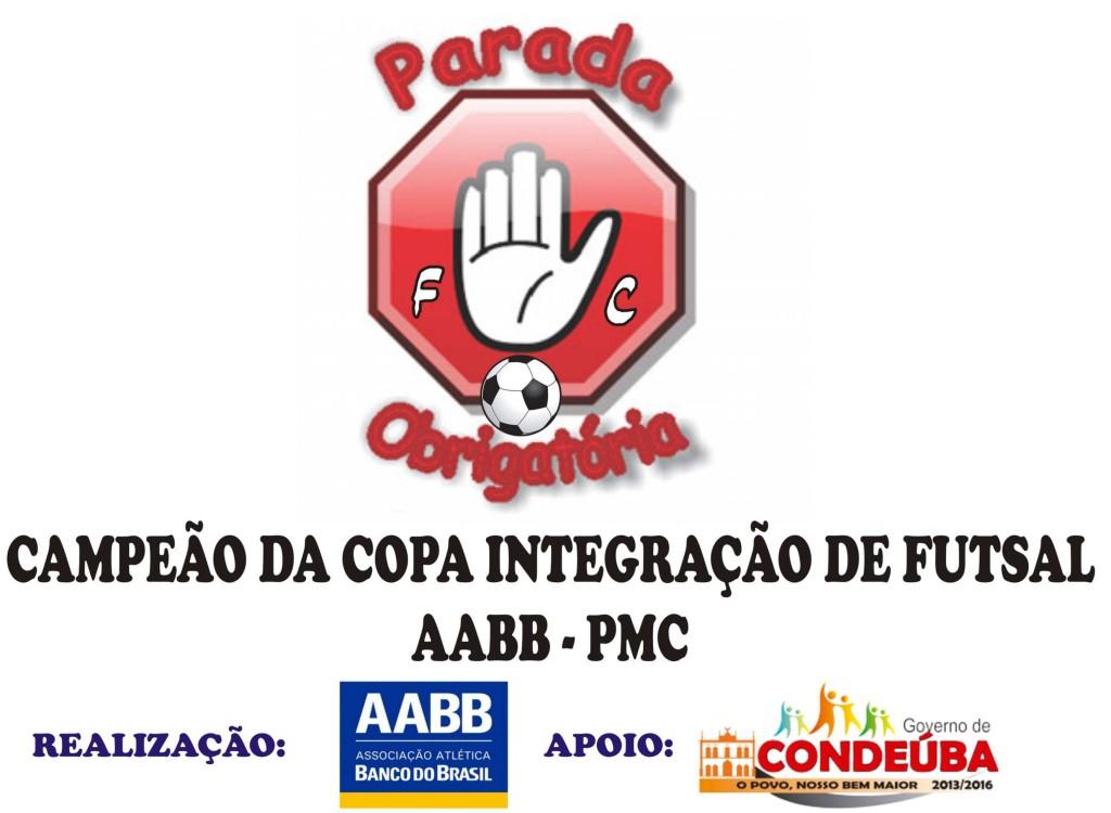 PARADA OBRIGATORIA CAMPEÃO