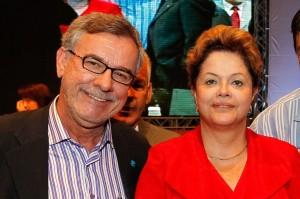 Waldenor e Dilma