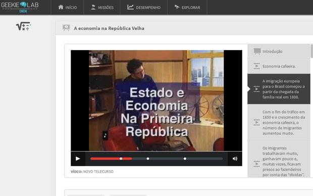 Candidatos vão ter acesso a plano de estudos e aulas em vídeo (Foto: Reprodução)