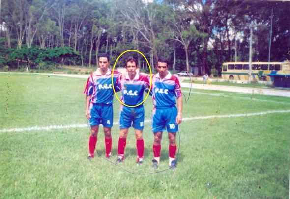 Jogo no Estádio Lomanto Júnior (Os Irmãos Flávio, Goiabão e Reinaldo)