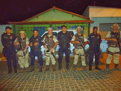 Na região, vinha ocorrendo muitos roubos de motocicletas. (Foto: Divulgação).