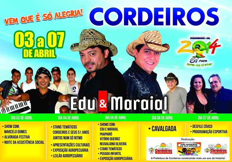 ANIVERSARIO 51 ANOS CORDEIROS