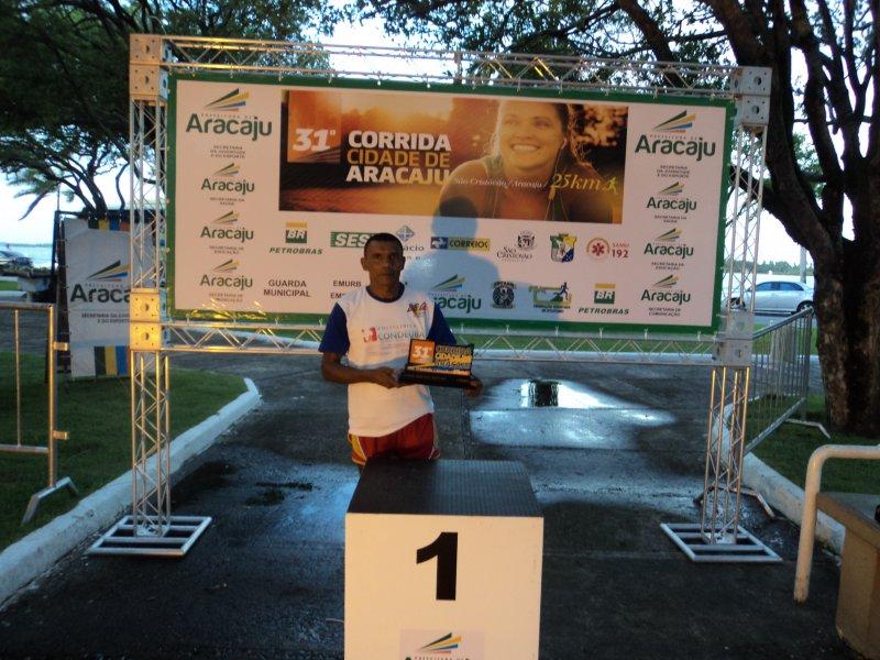 caralao maratonista 31 corrida cidade de Aracaju 01