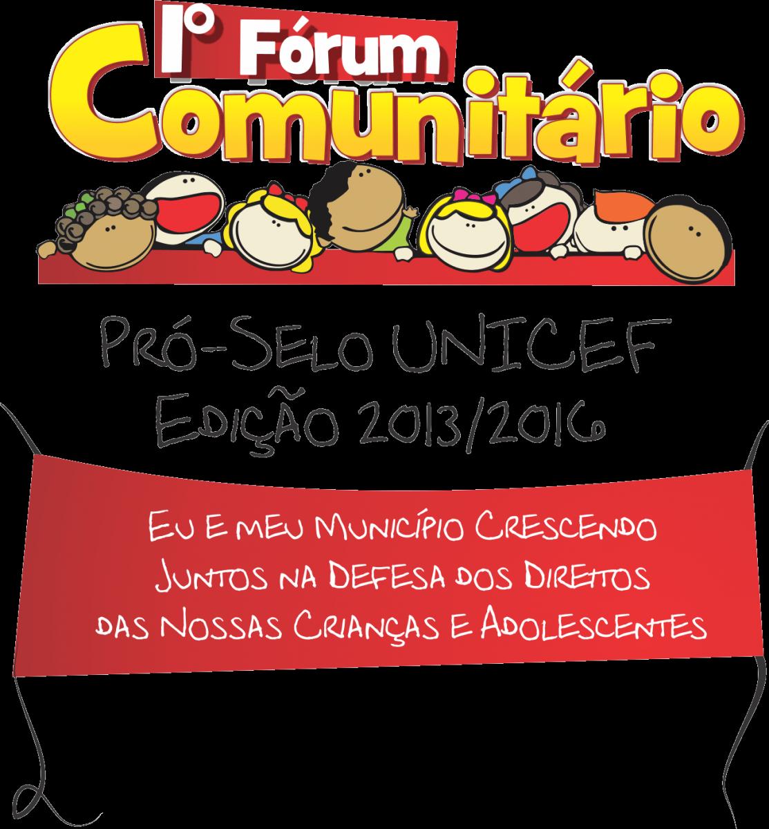 1º Fórum Comunitário