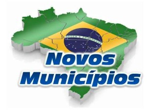 brasil novos municipios