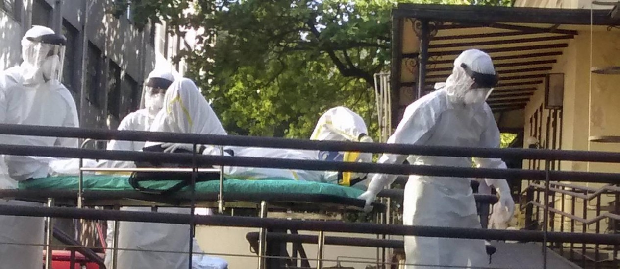 africano suspeita de ebola