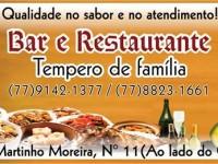 bar e restaurante tempero de familia