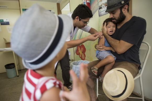 vacinação polio