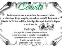 Convite - Alegre