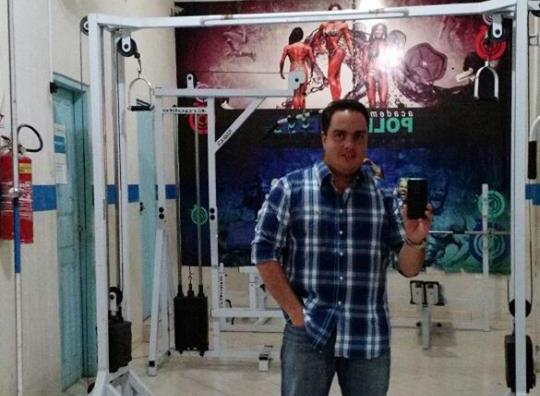 Educador Físico Willian Tolentino Pereira