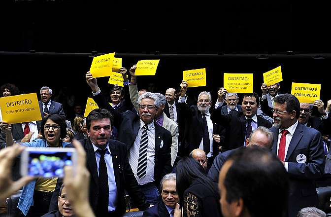 camara votacao reforma politica