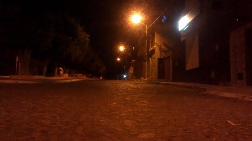rua de condeuba a noite