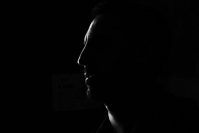 sombra perfil