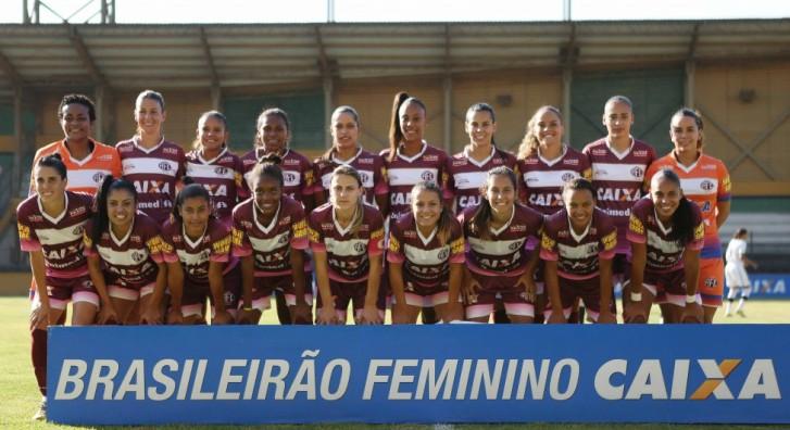 Ferroviária, campeã brasileira de 2014. Foto: Rafael Ribeiro / CBF