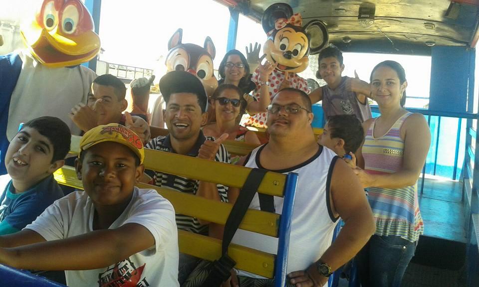 la barca da alegria em condeuba alunos da apae