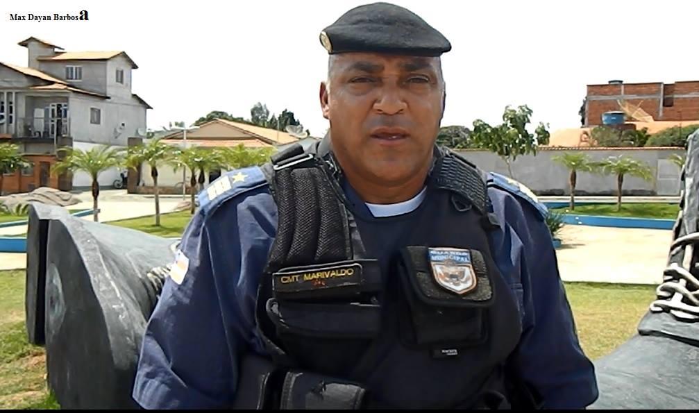 Comandante da Guarda Municipal de Licínio de Almeida Marivaldo Rosa Carvalho