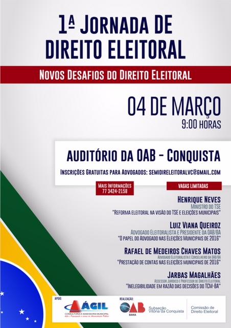 Seminário Direito Eleitoral 2