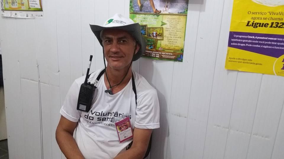 decio pereira coordenador voluntarios do sertao cabralia