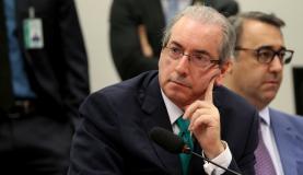 Cunha é acusado de quebra de decoro por ter mentido sobre a propriedade de contas no exterior durante depoimento na CPI da Petrobras Foto: Wilson Dias/Agência Brasil