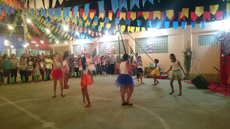 Circuito Festa Junina Uberlandia : Condeúba creche municipal vovó clemência e escola
