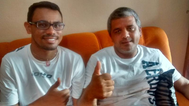 Na foto está presente a (esquerda)filiado no Partido PTC Pablo Henrique, e (Direita)O Presidente e Pré Candidato a Prefeito Walterland Alves da Silva conhecido como (Walter de Maria de Quelé).