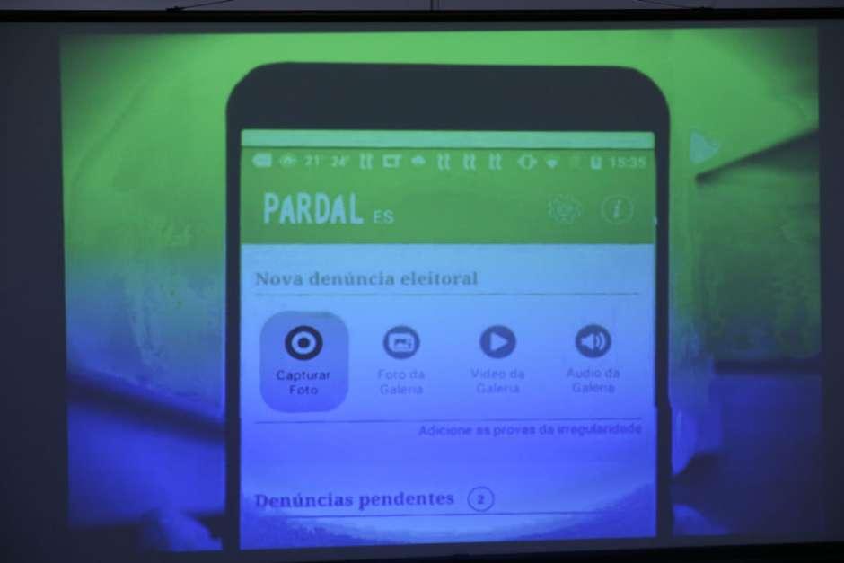 Brasília - Presidente do TSE, Gilmar Mendes lança o aplicativo Pardal para as eleições municipais de 2016. O aplicativo será mais um mecanismo da Justiça Eleitoral para coibir abusos e práticas irregulares durante as eleições deste ano (José Cruz/Agência Brasil)