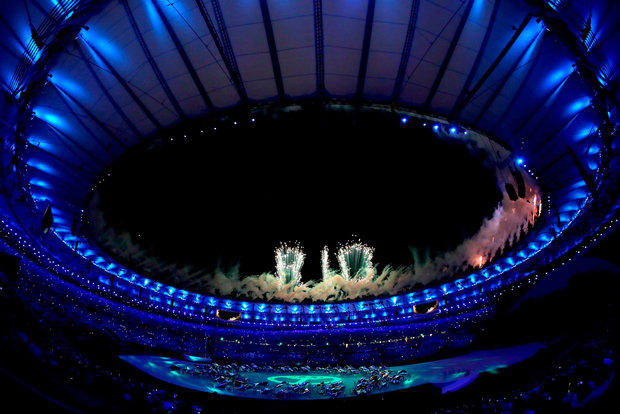 maracana abertura jogos rio 2016